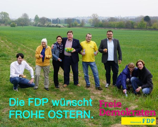 FDP Rödermark wünscht frohe Ostern